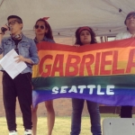 GABRIELA Seattle at Dyke march